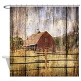 Barns Shower Curtains