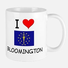 I Love BLOOMINGTON Indiana Mugs