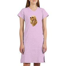 Cute Cocker spaniel Women's Nightshirt
