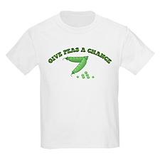 Give Peas A Chance Kids T-Shirt
