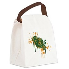 Mariposa Grizzlies Canvas Lunch Bag
