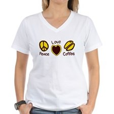 Peace Love Coffee T-Shirt