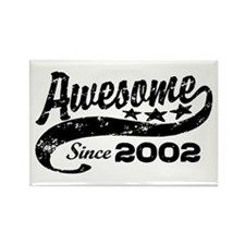 Awesome Since 2002 Rectangle Magnet