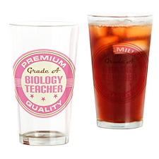 Premium quality biology teacher Drinking Glass