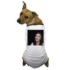 Woman Smiling Dog T-Shirt