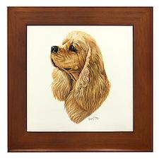 Cocker Spaniel (American) Framed Tile