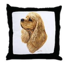 Cocker Spaniel (American) Throw Pillow