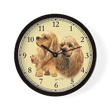 Cocker Spaniel (American) Wall Clock