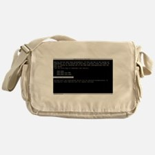 America Error Recovery Messenger Bag