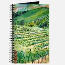 Winery Vineyard Art Journal
