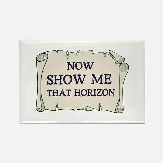 Show me that horizon Rectangle Magnet