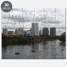 Richmond VA skyline Puzzle