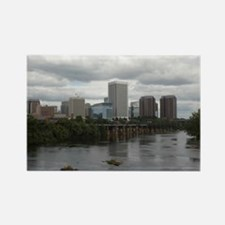 Richmond VA skyline Rectangle Magnet