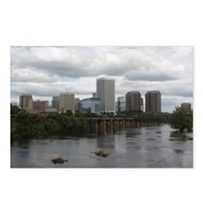 Richmond VA skyline Postcards (Package of 8)