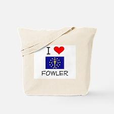 I Love FOWLER Indiana Tote Bag