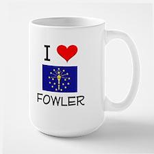 I Love FOWLER Indiana Mugs