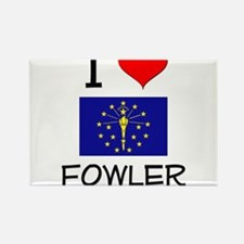 I Love FOWLER Indiana Magnets