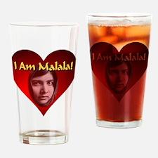 I Am Malala Drinking Glass