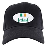 Ireland Flag Black Cap