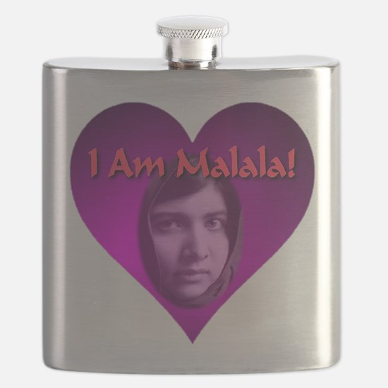 I Am Malala Flask