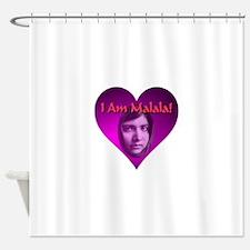 I Am Malala Shower Curtain