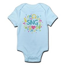Sing Choir Music Infant Bodysuit