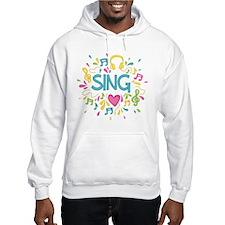 Sing Choir Music Hoodie
