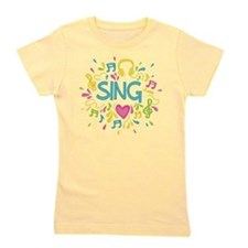 Sing Choir Music Girl's Tee