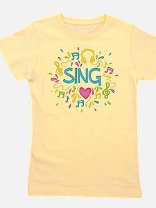 Sing Choir Music Girl's Tee