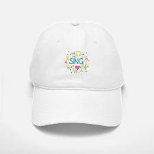Sing Choir Music Baseball Baseball Cap
