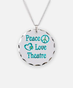 Peace Love Theatre Necklace