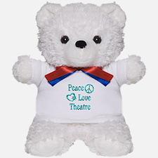 Peace Love Theatre Teddy Bear