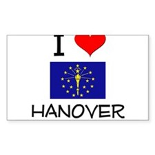 I Love HANOVER Indiana Decal