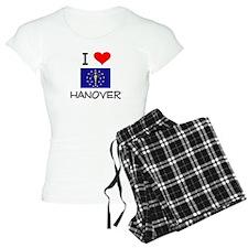 I Love HANOVER Indiana Pajamas