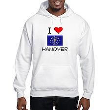 I Love HANOVER Indiana Hoodie