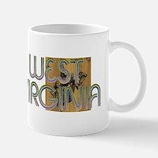 TOP West Virginia Skier Mug