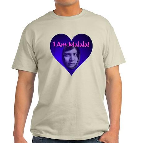 I Am Malala Light T-Shirt