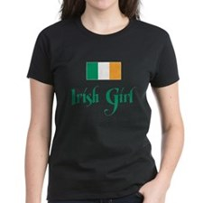 Irish Girl Flag Tee
