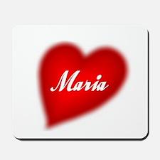 I love Maria products Mousepad