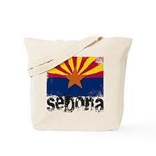 Sedona Grunge Flag Tote Bag