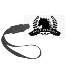 Paso Fino Passion Crest Luggage Tag