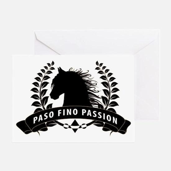 Paso Fino Passion Crest Greeting Card