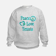 Peace Love Tennis Sweatshirt
