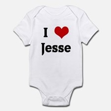 I Love Jesse Infant Bodysuit