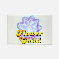 FLOWER CHILD Rectangle Magnet