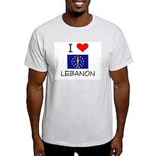 I Love LEBANON Indiana T-Shirt