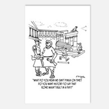 Rome Wasn't Built In A Day? Postcards (Package of