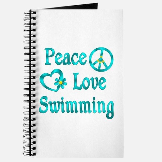 Peace Love Swimming Journal
