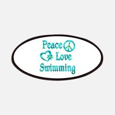 Peace Love Swimming Patches