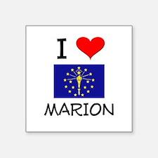 I Love MARION Indiana Sticker